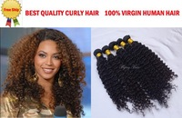 Luffy Brazilian curly virgin hair 3pcs & 4pcs lot brazillian deep curl weave  Beautiful Queen hair shop oscar hair Free shipping