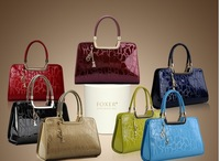 2013 new high-grade leather handbags and Fashion Handbags authentic embossed leather handbag
