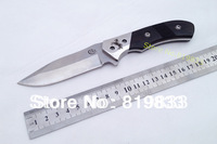 Top Quality!COLT fixed blade knife,8CR13Mov  blade,ebony handle,hunting knife,outdoor knife,FREE SHIPPING