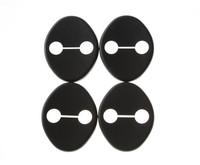 4pcs Car Door lock decoration cover Door lock protective cover   for KIA  K2 / RIO SOUL Hyundai solaris\verna Rena