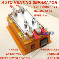Safety secure heat thermal separating separator machine tool for smart phone outer glass digitizer panel lcd led screen
