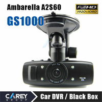 HK post! GS1000 with GPS G-Sensor 5MP H.264 Full HD 1920x1080p 30FPS Car Recorder HDMI Ambarella CPU