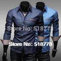 Mens Dress Shirt French Cuff Man designer Polo Long Sleeve Men Military Shirts Blusa Camisa Social Slim Fit Military Shirt