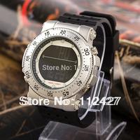 2013 hot style sports watch men mechanical hand wind new unique design silicon strap watch men dress wristwatch--SP007