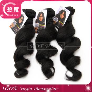 AAAAA Virgin Best and Unprocessed 3pcs Lot Virgin Brazilian Hair Bundles Thick Loose Wave Hair