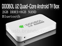 DOOBOL U2 MK812A  MINI PC Andriod 4.2 Rockchips Rk3188 Quad Core 1.6GHz 2G DDR3/8G NAND Built-in Bluetooth TV box without camera