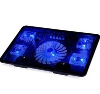 5 Pieces Fans Laptop Cooler,Laptop Cooling Rack,Computer Fan Base Plate,Pad Cooling Base Computer Cooling Pad Strengthen Edition