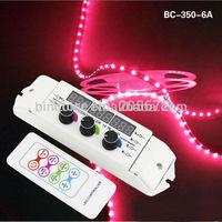 6A/CHx3 Constant Voltage RGB LED controller DC12-24V RF remote LED RGB controller