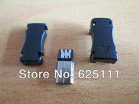 FreeShipping 10Pcs USB Type B MINI USB Male 5Pins Plug Connector JACK Adapter Socket DIY