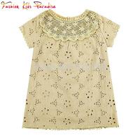 New 2014 summer girls blouses brand children blouse shirts kids bow blouse girls' designer blouses 2-8Y