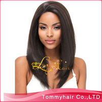 Free shipping Grade AAAAA virgin Brazilian hair with(out) silk top gluless full lace wig,short straight  hair wig,1b,150%density
