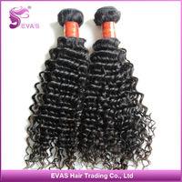 Tangles& shedding free EVA'S 100% unprocessed  Malaysian virgin Deep curly hair 5 pcs mixed length 6a virgin hairfree shipping