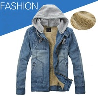 free shipping 2013 new Denim jacket men's denim print jeans coat male jaqueta mens casacos hoodies  european style clothing