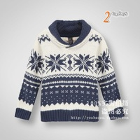 Promotion 2014 kids Spring Autumn cotton sweater boys/girls brand new pullovers