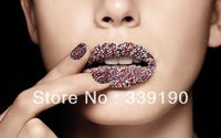 18 colors Caviar pearls Manicure Colorful Fashion Small Beads micro perles Ciate Nail Arts