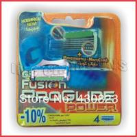 Free shipping 2014 NEW Best selling!!! Men Barber Professional Edge Sharp Shaving Razor Replaceable Blade (8pcs/lot,FPP4-10%)