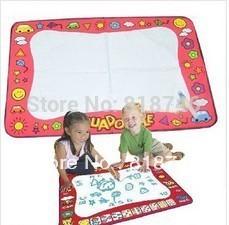 Hot selling Drawing Toys Mat Aquadoodle Drawing Mat&1 Magic Pen/Water Drawing Replacement Mat 56*80cm Free shipping YR0397