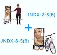 J2B-0003  6hrs [J2B+J8B]  Mobile Outdoor human walking billboard, up to 06hrs battery