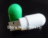 Cute Pill USB Drives 1GB 2GB 4GB 8GB 16GB 32GB Memory Stick Flash drive Green