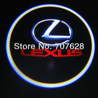 Promotion! The 8th Generation high brightness car projector logo lights& door Ghost shadow light  for PRIORA