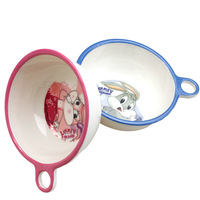 High temperature resistant newborn baby to eat meal bowl meal training children small tableware