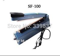 SF-100 Hand Impulse Heat Bag Sealer with Free Spare Kit,Heating Elements & Teflon Sheet