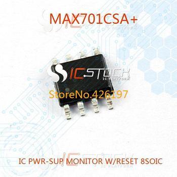 MAX701CSA IC PWR-SUP MONITOR W/RESET 8SOIC 701 MAX701 MAX701C 3pcs