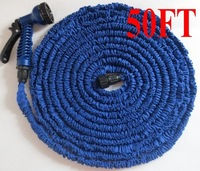 Free Shipping 50sets/lot Garden Water Hose Expandable Water Hose 50FT Garden Water Hose As Seen On TV