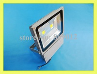 LED flood light 100W(2 X 50W) LED floodlight spotlight flood lamp wall washer outdoor AC85-265V 7000-8000lm new design