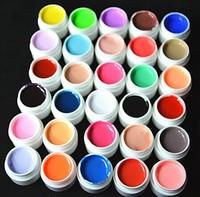 Free Shipping 30pcs Colors Milky Pure Colour Nail uv gel, Uv gel Set,   nail art