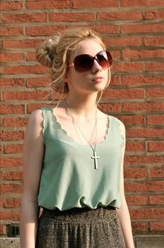 3size Woman Chiffon sleeveless shirt Ladies tank Tops tee plus loose long design vest tank camis 16 Color(China (Mainland))