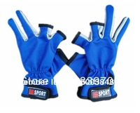 HOT!!1 Pair Fishing Glove Tackle Sport Non-Slip fishing Gloves For Winter Fly Fishing equipment Sun block