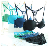 Top Quality Bra and Panty Set (S021) New Arrival Underwear lady secret sexy bra  front lock wholesale brassiere free shipping