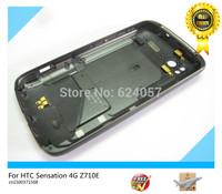 Original For HTC Sensation 4G Z710e G14  Black Back Cover Housing Case Replacement  free shipping