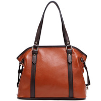 Yu BeauyIng 2014 New Style Genuine Leather Handbags Cowhide Messenger Bag Celebrity Tote Free Shipping