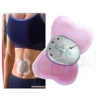 HOT Electronical Slimming Butterfly Body Muscle Massager Pink P1
