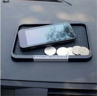 Free shipping (black) Car accessories feature phones cigarette COINS perfume mat sundry put sticky mat