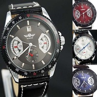 New Concept ! Vogue Sports Style Automatic Mechanical Watch Men Famous Brand Winner Date Mechanical Watch Top Quality