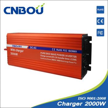 24v inverter pure sine wave charger  2000W