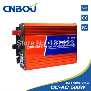 Pure Sine Wave 500W 48v 220v off grid Inverter