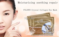 50pcs/lot PILATEN Crystal Collagen Eye Mask anti-aging,anti-puffiness,dark circle,Eliminating Eye Bag, anti wrinkle moisture