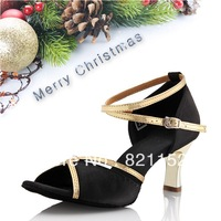 Free shipping latin dance shoes adult women's Latin dance shoes ballroom dancing shoes