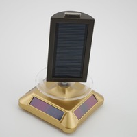 Solar Powered Jewelry Phone Watch Rotating Display Stand Turn Table Dropshipping Wholesale