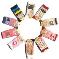 Wholesale New arrival hot-selling 100% cotton children socks slip-resistant small kid's socks baby floor socks BBW-135