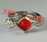 Freeshipping wholesale 20pc a lot Hobbit ring ARWEN ring Lord of the Rings The of Arwen ring silver  MMBA01