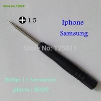 100pcs/lot CALL PHONE TOOLS  Phillips 1.5  screwdriver For iPad iphone Internal screw Dismantle Tool