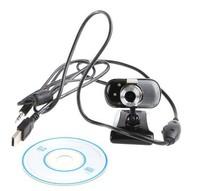 10pcs/lot,USB 2.0 30.0M 3 LED PC Camera HD Webcam Camera Web Cam + MIC CD for Computer PC Laptop Free Shipping +Drop Shipping