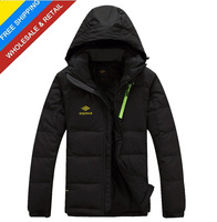 excellent quality men's warm fashion winter jacket coat winter down jacket coat parka hoodies outerwear overcoat thick clothing