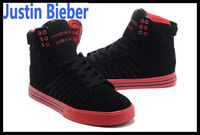 New 2014 sneakers shoes  for men Fashion Brand Designer Justin Bieber sport soccer shoes skateboarding