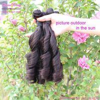 Queen 3 or 4 bundle super brazilian  bella dream virgin remy eurasian modern unprocessed virgin remy hand tied spring curl hair